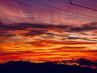 自然,風景,空,屋外,太陽,雲,夕暮れ,夕方,日の出,明るい,設定