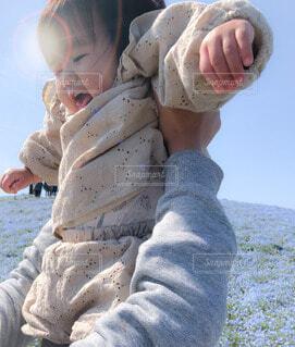 風景,屋外,少女,人物,人,赤ちゃん,幼児