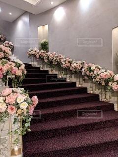 花,屋内,花瓶,バラ,薔薇,植木鉢,壁,観葉植物,花柄