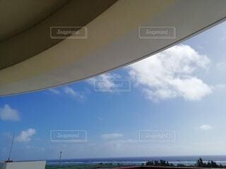 空,屋外,ビーチ,雲,水面