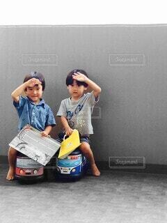 双子の写真・画像素材[4533323]