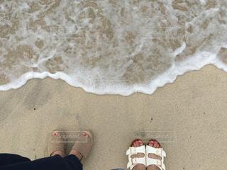 砂,ビーチ,砂浜,波,海辺,景色,地面