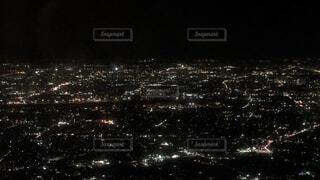 空,夜景,屋外,綺麗,光,高層ビル,景観,多数