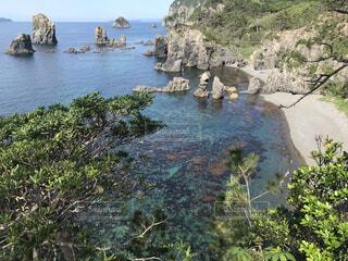 自然,風景,屋外,湖,ビーチ,綺麗,島,透明,水面,岩