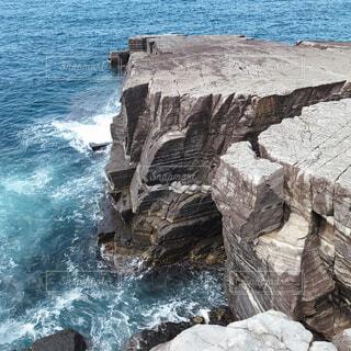 自然,風景,海,屋外,ビーチ,水面,海岸,滝,岩,地層