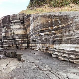 自然,屋外,岩,地面,廃墟,石,地層