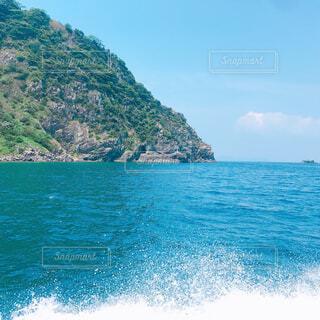 自然,風景,海,空,屋外,湖,ビーチ,綺麗,青空,島,水面,山,マリンスポーツ