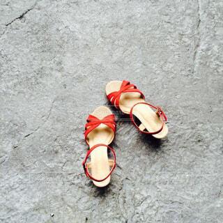 夏,靴,屋外,赤,サンダル,都会,旅,地面,デート,通り,履物
