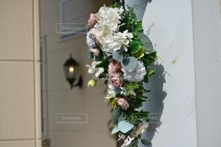 花,屋内,白,花束,花瓶,バラ,結婚式,薔薇,フラワーアレンジ,花柄,草木,花屋,切り花