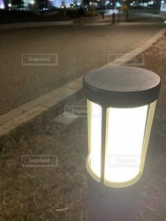 公園,夜,屋外,散歩,ライト,灯り,キャンプ,歩道,街中