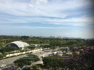 空,屋外,雲,景色,樹木,シンガポール