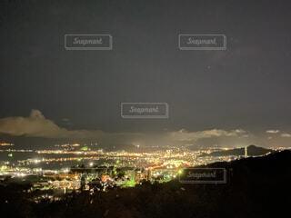 風景,空,夜,屋外,雲,都会,高層ビル