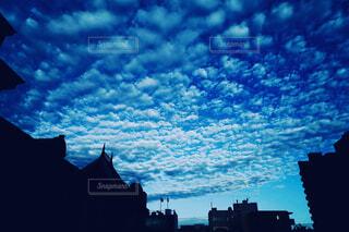 風景,空,屋外,雲,明るい,うろこ雲,交通,雲と空のコントラスト