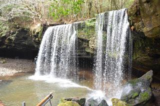 自然,屋外,水面,滝