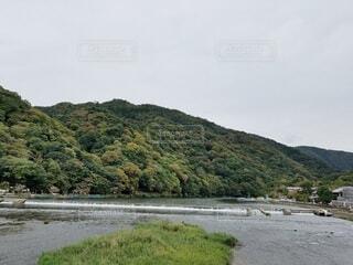 京都嵐山での1枚の写真・画像素材[4509270]