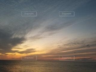 自然,空,屋外,湖,太陽,ビーチ,雲,夕暮れ,水面,日の出