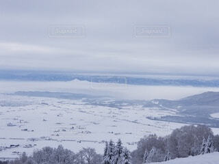 自然,風景,空,雪,屋外,雲,山,斜面,覆う