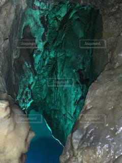 自然の洞窟の写真・画像素材[4512465]