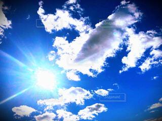 空,雲,青,青い空,奇跡,明日,明日に向かって,羽ばたいて