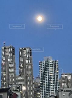 自然,風景,空,建物,屋外,タワー,都会,月