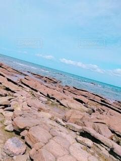 自然,風景,海,空,屋外,砂,ビーチ,雲,水面,海岸,山,岩,地面,雰囲気,景観,日中