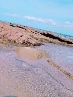 自然,風景,海,空,屋外,砂,ビーチ,雲,綺麗,水,水面,海岸,山,岩,石,雰囲気,広い