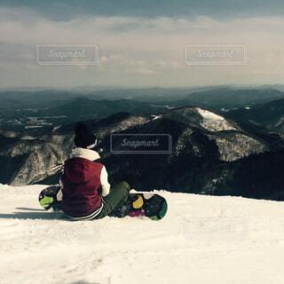 自然,風景,空,雪,屋外,山,人物,人,スキー,ハイキング,スノーボード