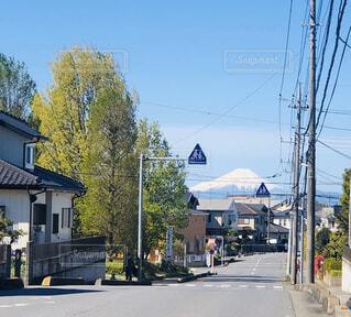 空,屋外,道路,家,樹木,通り,地元