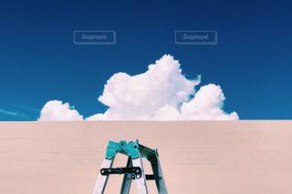 空,屋外,雲,青空,晴天,脚立,日中,スクリーン ショット