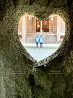 ハート神社の写真・画像素材[4534557]