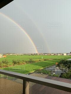 虹が出た♪の写真・画像素材[4534682]