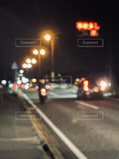夜のライトアップの写真・画像素材[4518114]