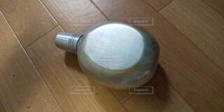 昔の水筒の写真・画像素材[4792651]
