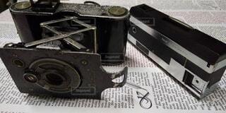 昔のカメラの写真・画像素材[4806290]