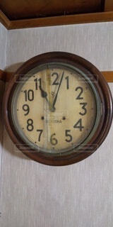 昔からの家にある時計の写真・画像素材[4819211]