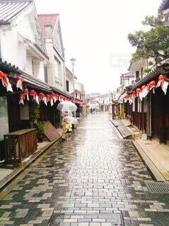 雨のお散歩の写真・画像素材[4593669]
