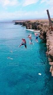 ジャンプ!(キャプチャ画像)の写真・画像素材[4639711]