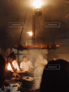 ろばた焼き(レトロ風)の写真・画像素材[4797804]