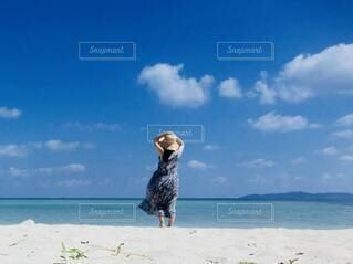 ビーチで日光浴!の写真・画像素材[4693723]