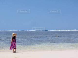 沖縄で夏休みの写真・画像素材[4693757]