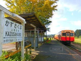 秋の小湊鐵道の写真・画像素材[4776679]
