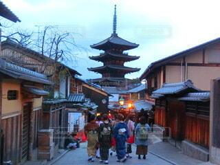 京都の小道の写真・画像素材[4780591]