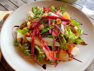 鎌倉野菜のサラダランチの写真・画像素材[4810824]