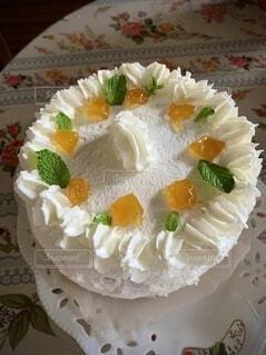 手作りケーキ♡の写真・画像素材[4821396]