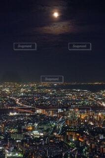 自然,風景,空,夜景,東京,スカイツリー,東京スカイツリー,月