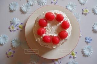 手作りお誕生日ケーキ♡の写真・画像素材[4942038]