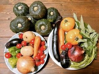 盛りだくさんの野菜の写真・画像素材[4658483]
