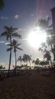 ハワイ旅行 ワイキキビーチの写真・画像素材[4527068]