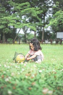 ボール遊びの写真・画像素材[4582996]