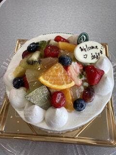 ベビーシャワーケーキの写真・画像素材[4524226]
